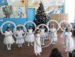 МОУ.Кумачовская школа.Танец снежинок.1 класс