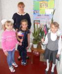 Под флагом Республики МОУ «Кумачовская школа» дружно живёт