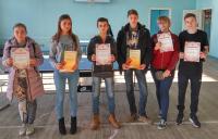 Соревнования по шахматам и настольному теннису среди школ Старобешевского района – 2018