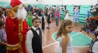 Веселы хоровод с Дедом Морозом