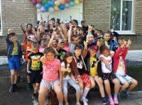 Открытие пришкольных лагерей