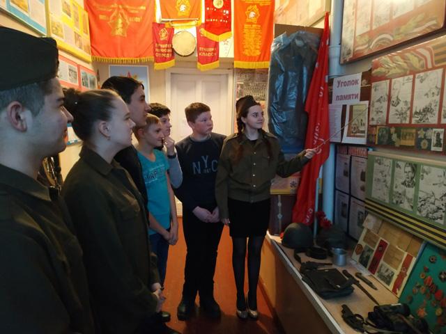 День защитника Отечества в МОУ «Марьяновская школа»