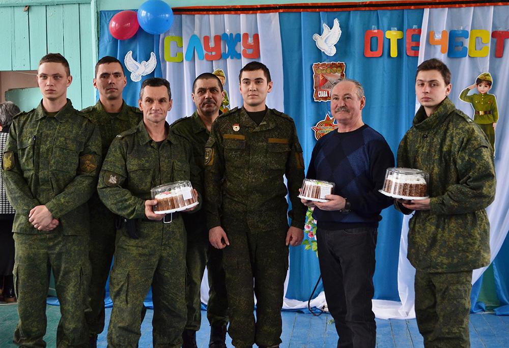 Мы вами гордимся, доблестные защитники отечества!