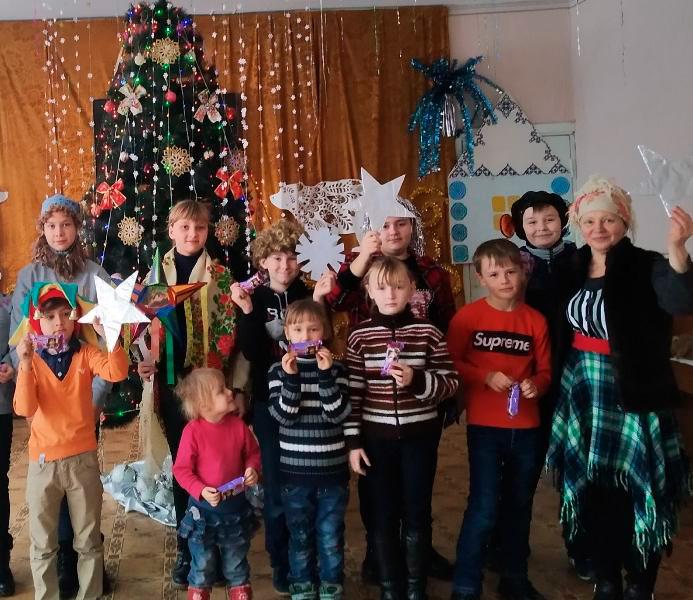 Рождественские мероприятия в образовательных учреждениях Старобешевского района