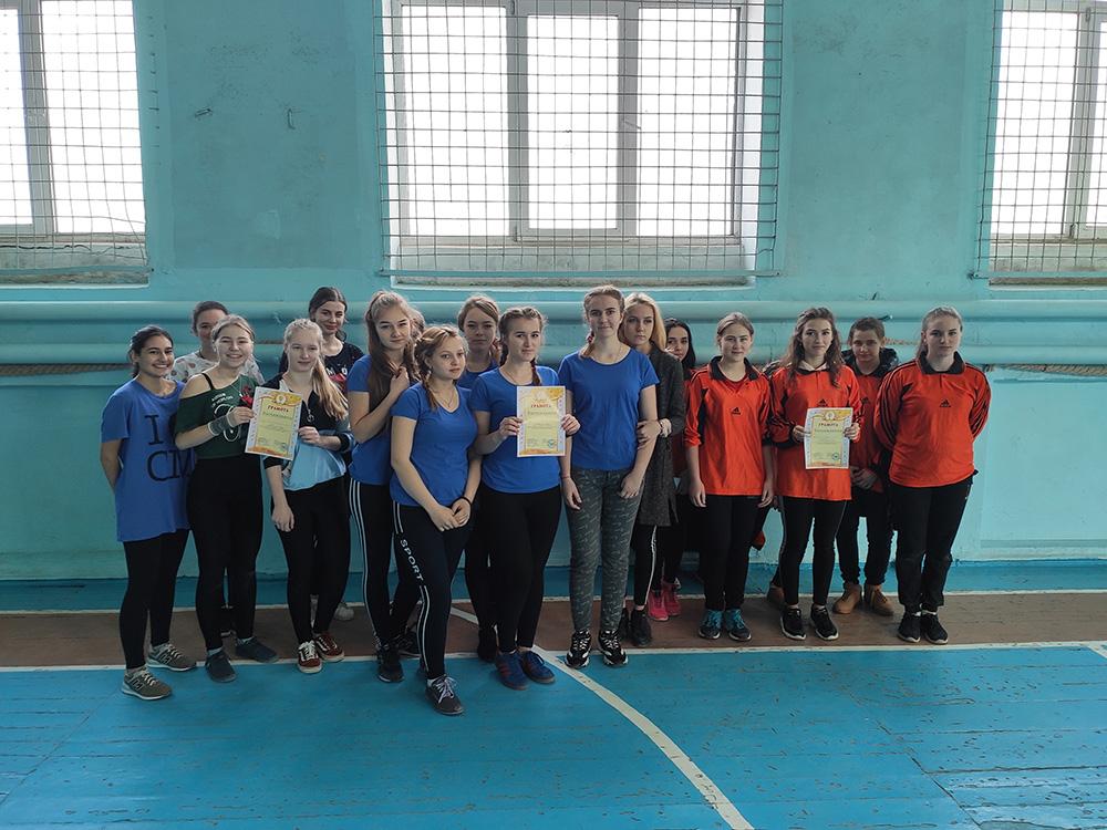 Соревнования по волейболу среди школьников - 2020