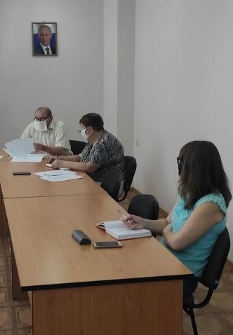 Cовещание руководителей пунктов проведения экзаменов